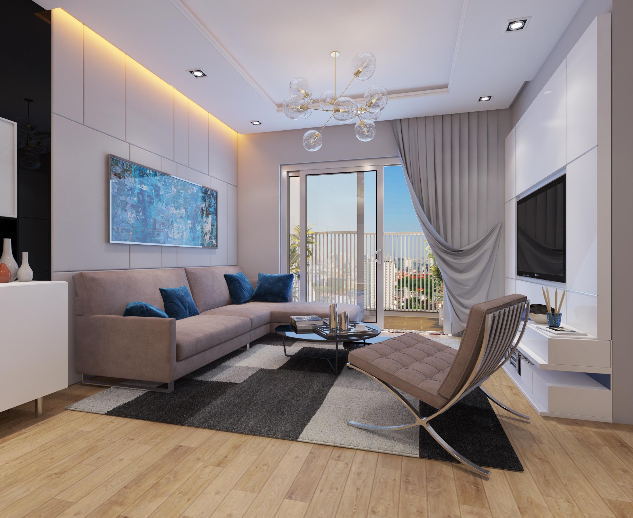 Cutaway apartment full furnitures modern design 3d model max 279958