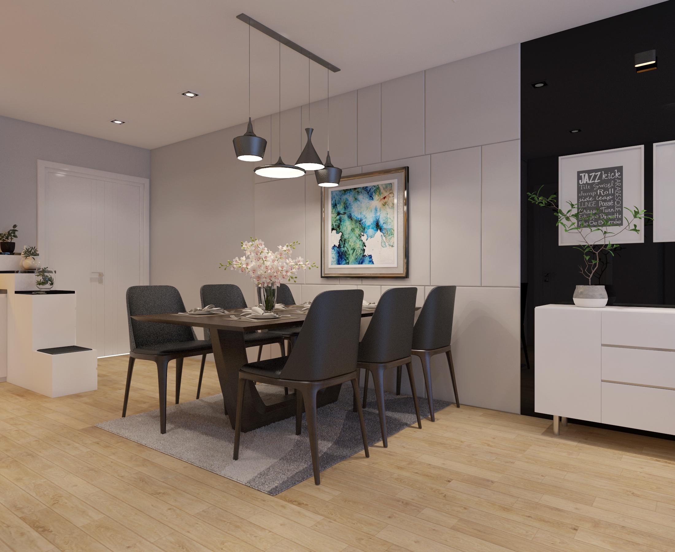 Cutaway apartment full furnitures modern design 3d model max 279959