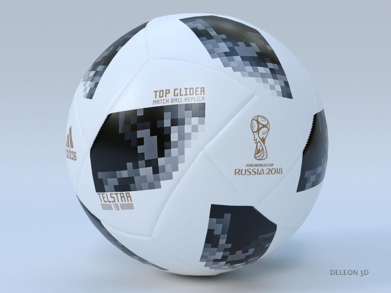 soccer ball adidas 2018 fifa world cup russia 3d model max max max lxo fbx c4d jpeg stl obj 281443