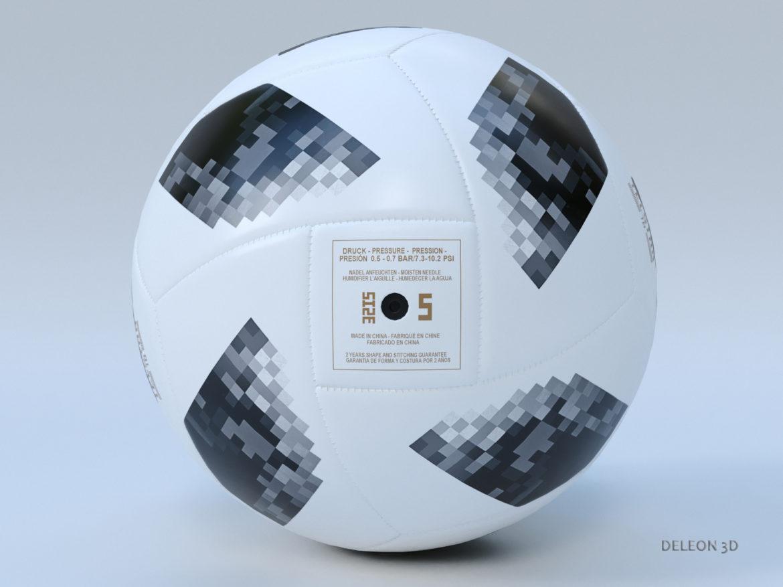 soccer ball adidas 2018 fifa world cup russia 3d model max max max lxo fbx c4d jpeg stl obj 281444
