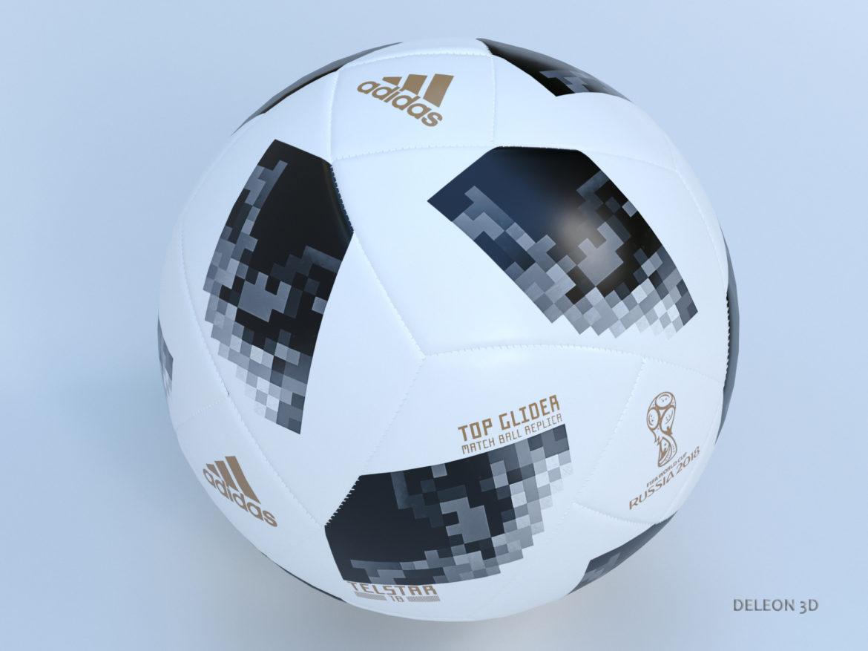 soccer ball adidas 2018 fifa world cup russia 3d model max max max lxo fbx c4d jpeg stl obj 281445