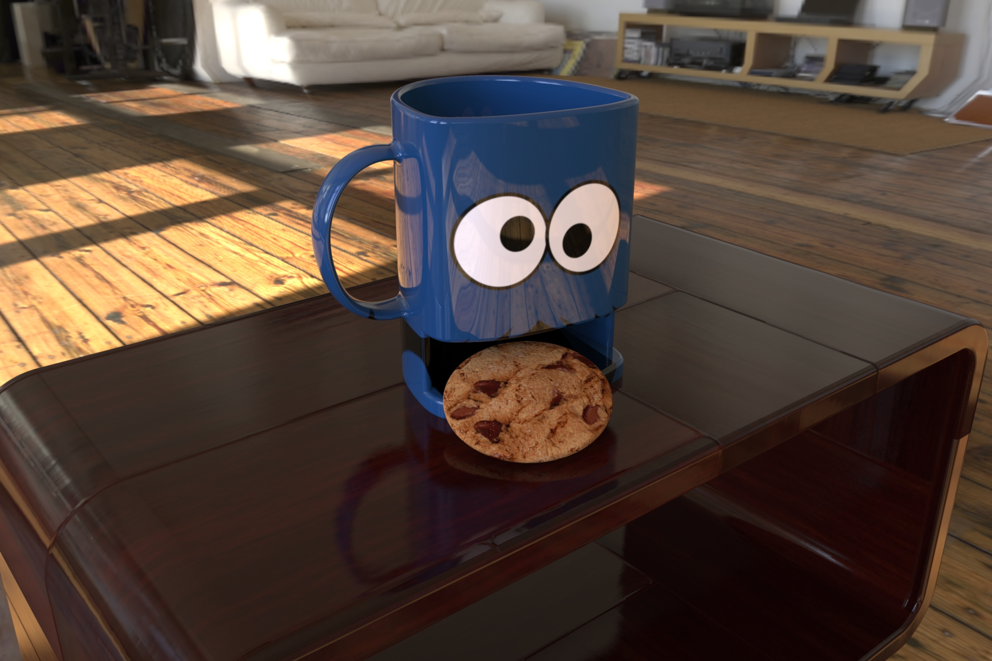 cookie mug 3d model ige igs iges sldprt  obj 282056