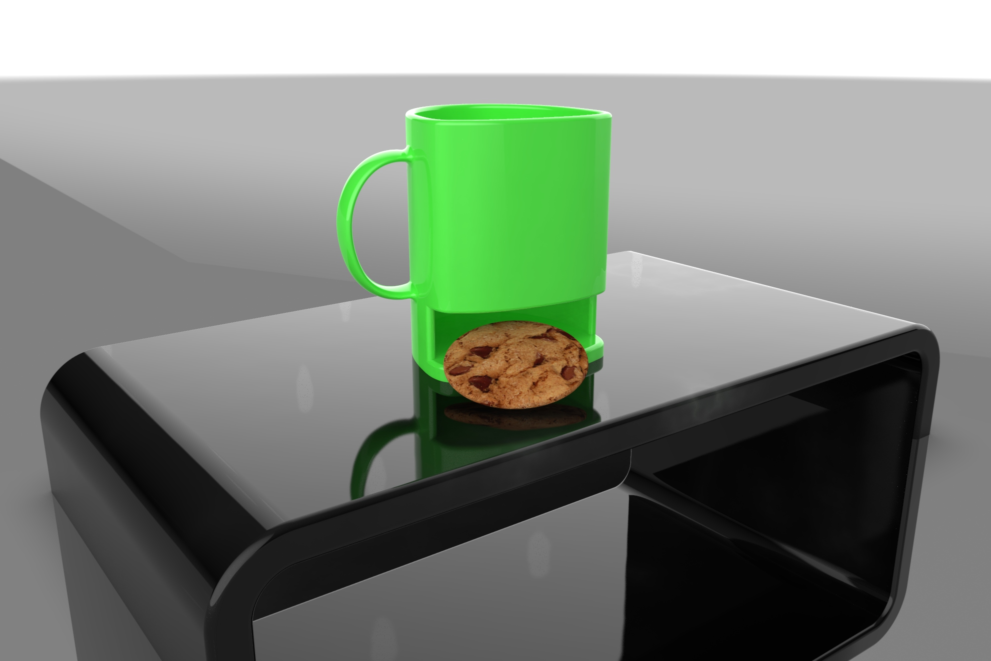 cookie mug 3d model ige igs iges sldprt  obj 282058