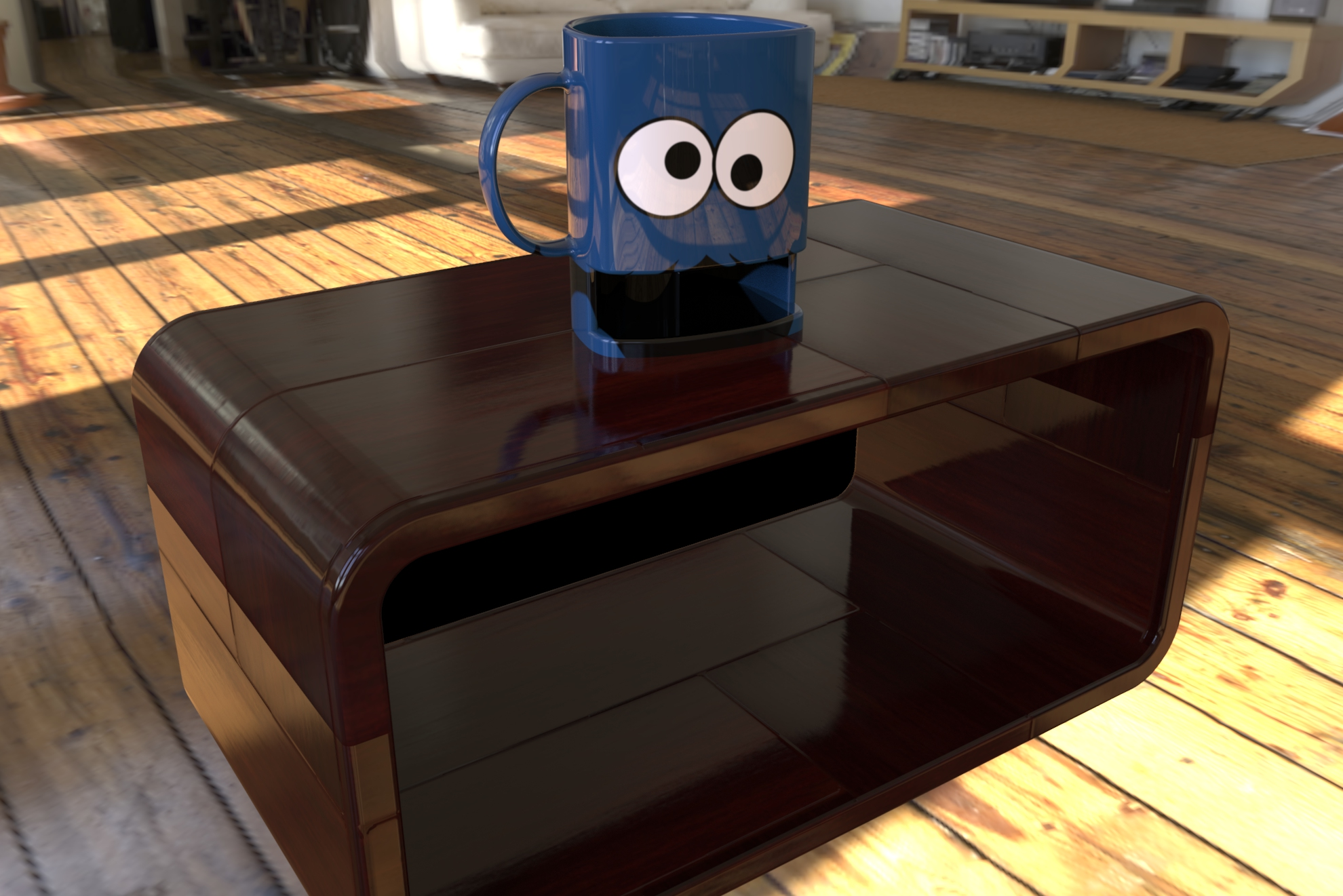 cookie mug 3d model ige igs iges sldprt  obj 282060