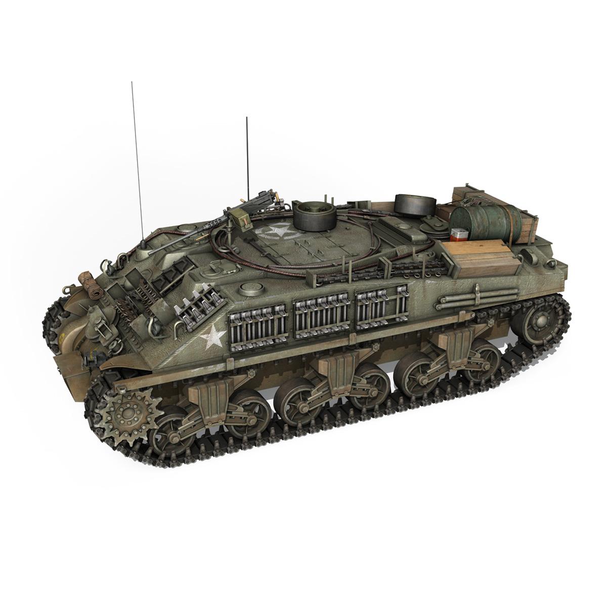 m4 sherman arv mk.i – 151083 3d model 3ds fbx c4d lwo obj 282118