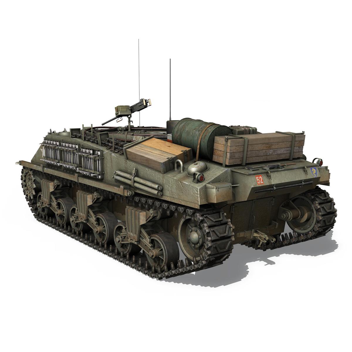 m4 sherman arv mk.i – 151083 3d model 3ds fbx c4d lwo obj 282119