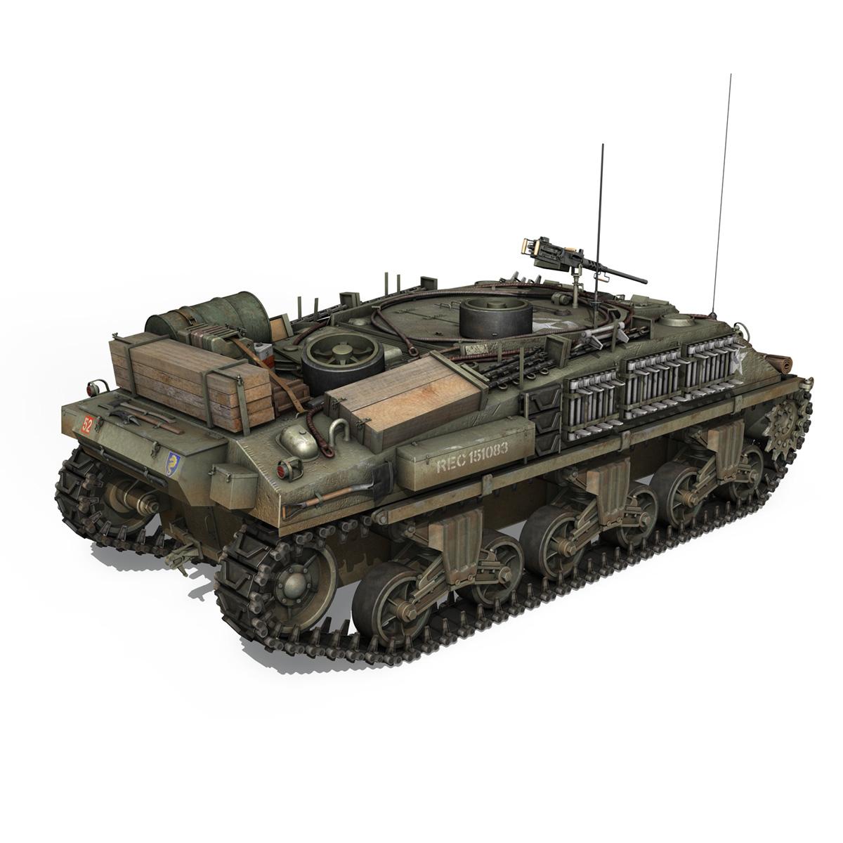 m4 sherman arv mk.i – 151083 3d model 3ds fbx c4d lwo obj 282120