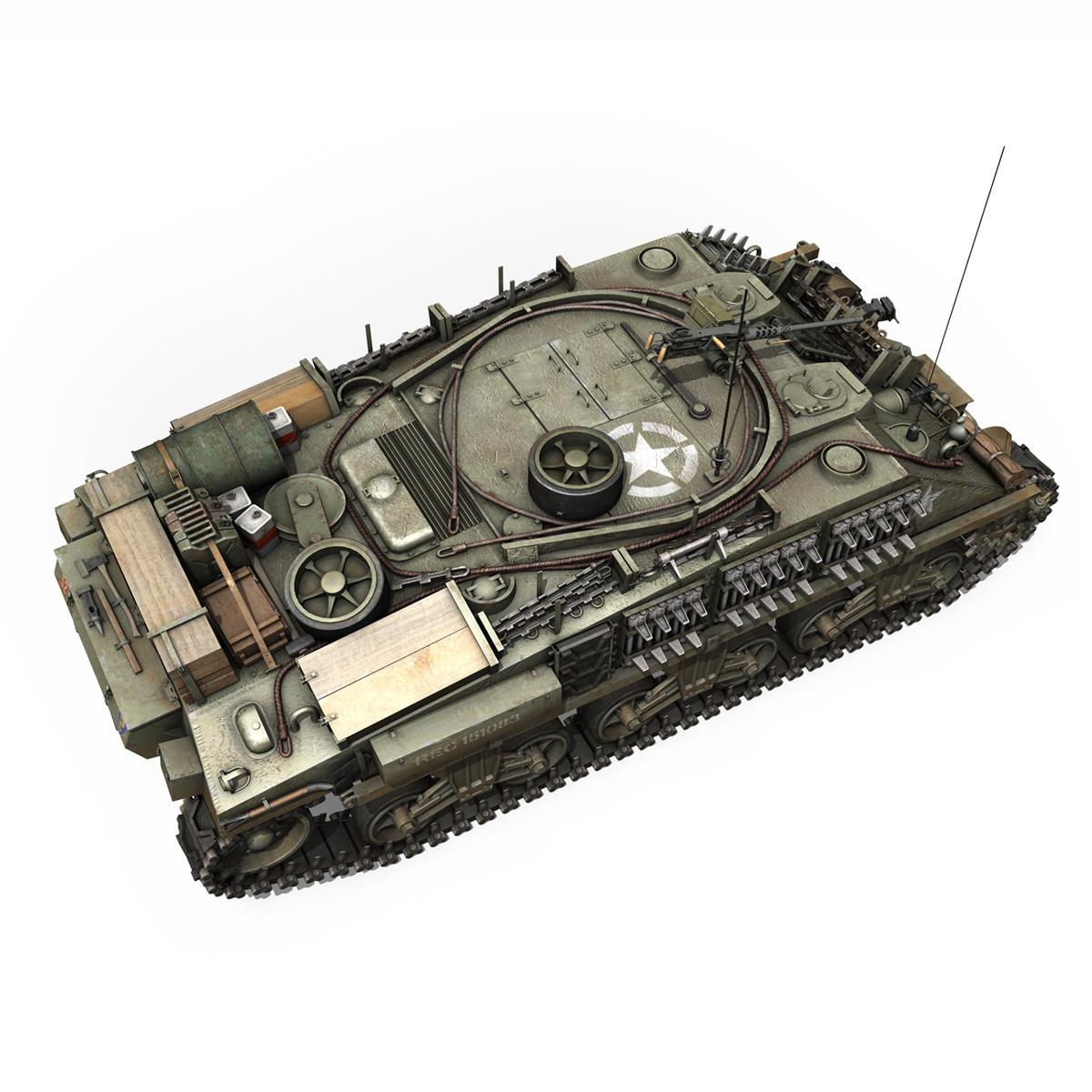 m4 sherman arv mk.i – 151083 3d model 3ds fbx c4d lwo obj 282123