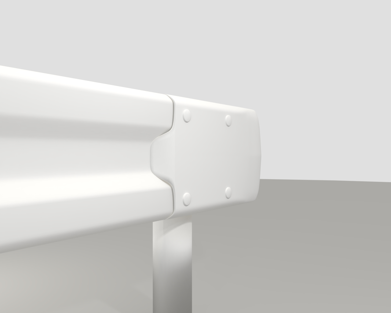 guardrail in japan 3d model fbx 282219