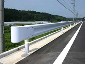 guardrail in japan 3d model fbx 282224