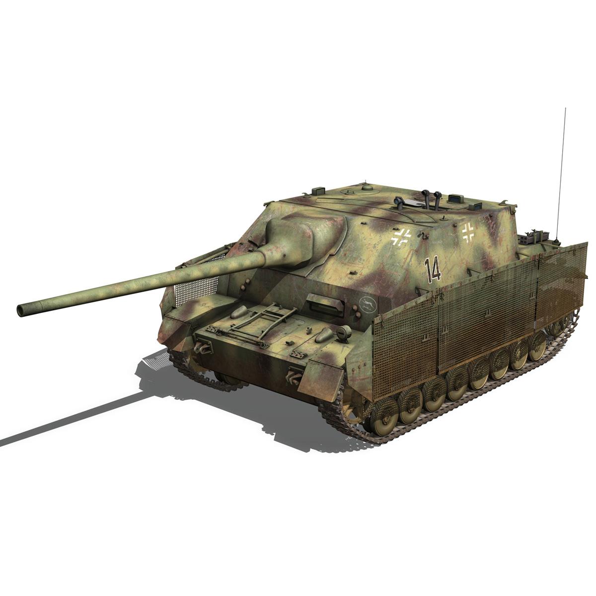 jagdpanzer iv l/70 (a) – 14 3d model 3ds fbx c4d lwo obj 282329