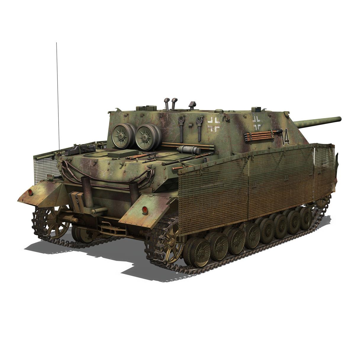 jagdpanzer iv l/70 (a) – 14 3d model 3ds fbx c4d lwo obj 282332