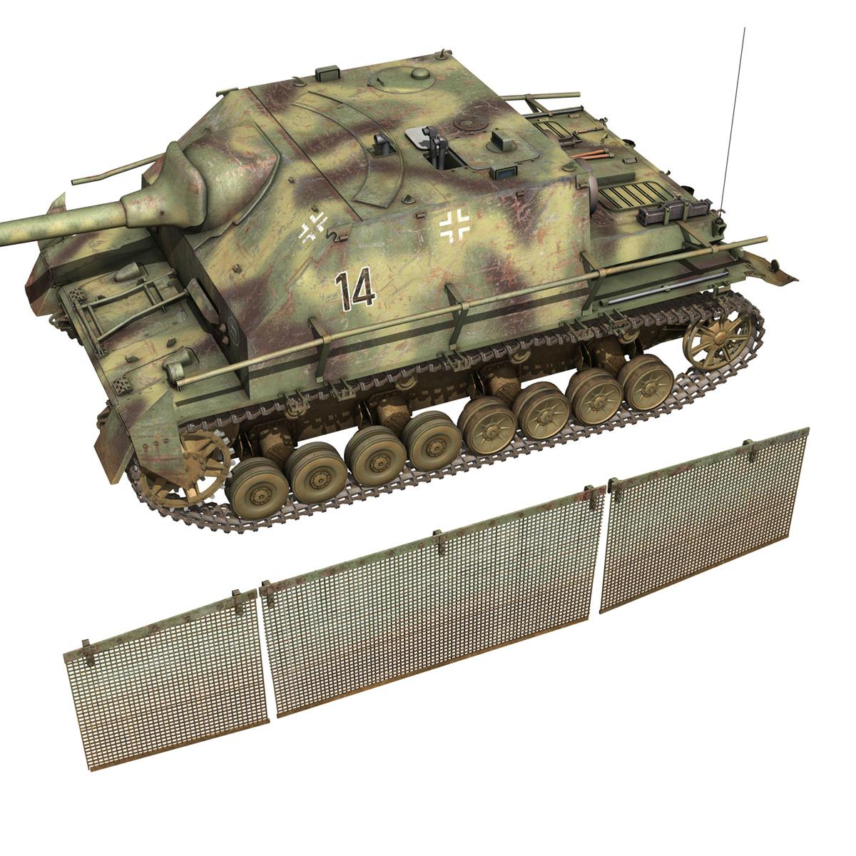 jagdpanzer iv l/70 (a) – 14 3d model 3ds fbx c4d lwo obj 282335