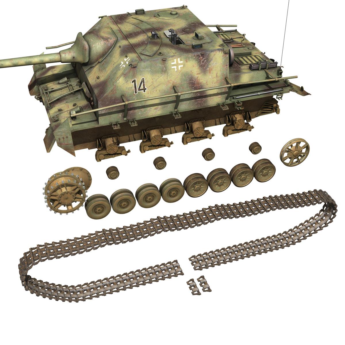 jagdpanzer iv l/70 (a) – 14 3d model 3ds fbx c4d lwo obj 282336
