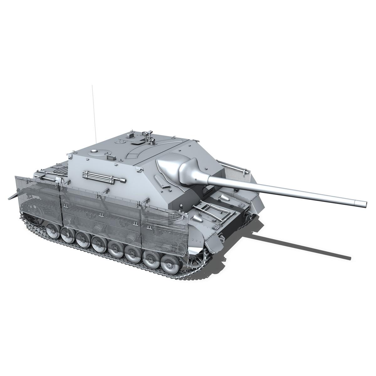 jagdpanzer iv l/70 (a) – 14 3d model 3ds fbx c4d lwo obj 282337