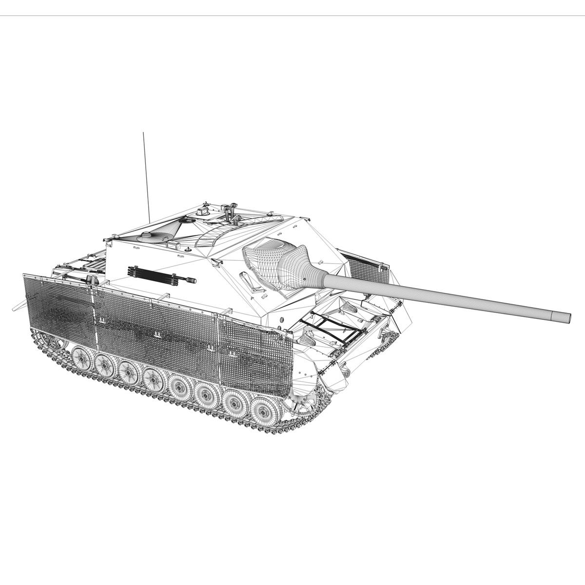 jagdpanzer iv l/70 (a) – 14 3d model 3ds fbx c4d lwo obj 282338