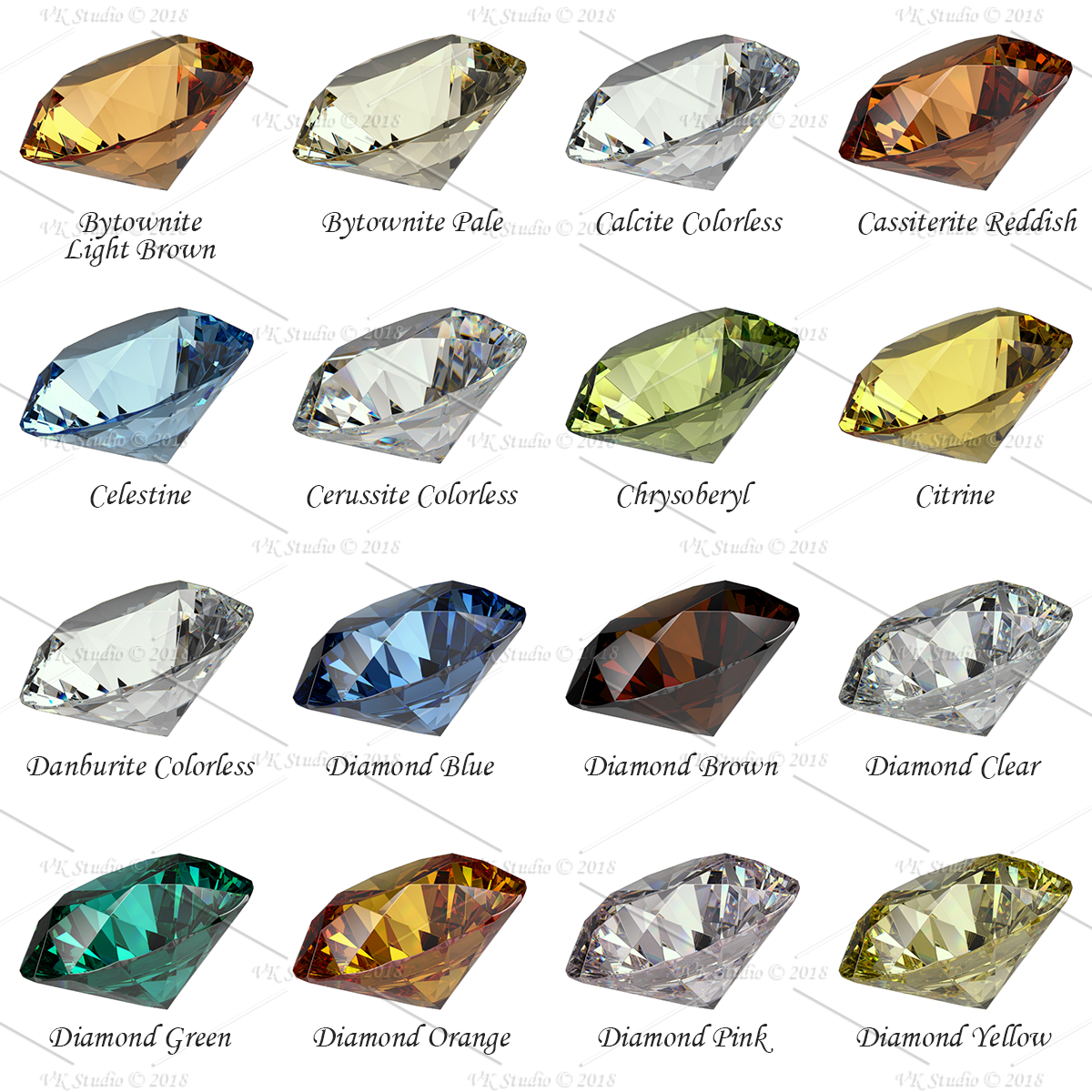 gemstone materials ultimate for v-ray and 3ds max 3d model max png 282427