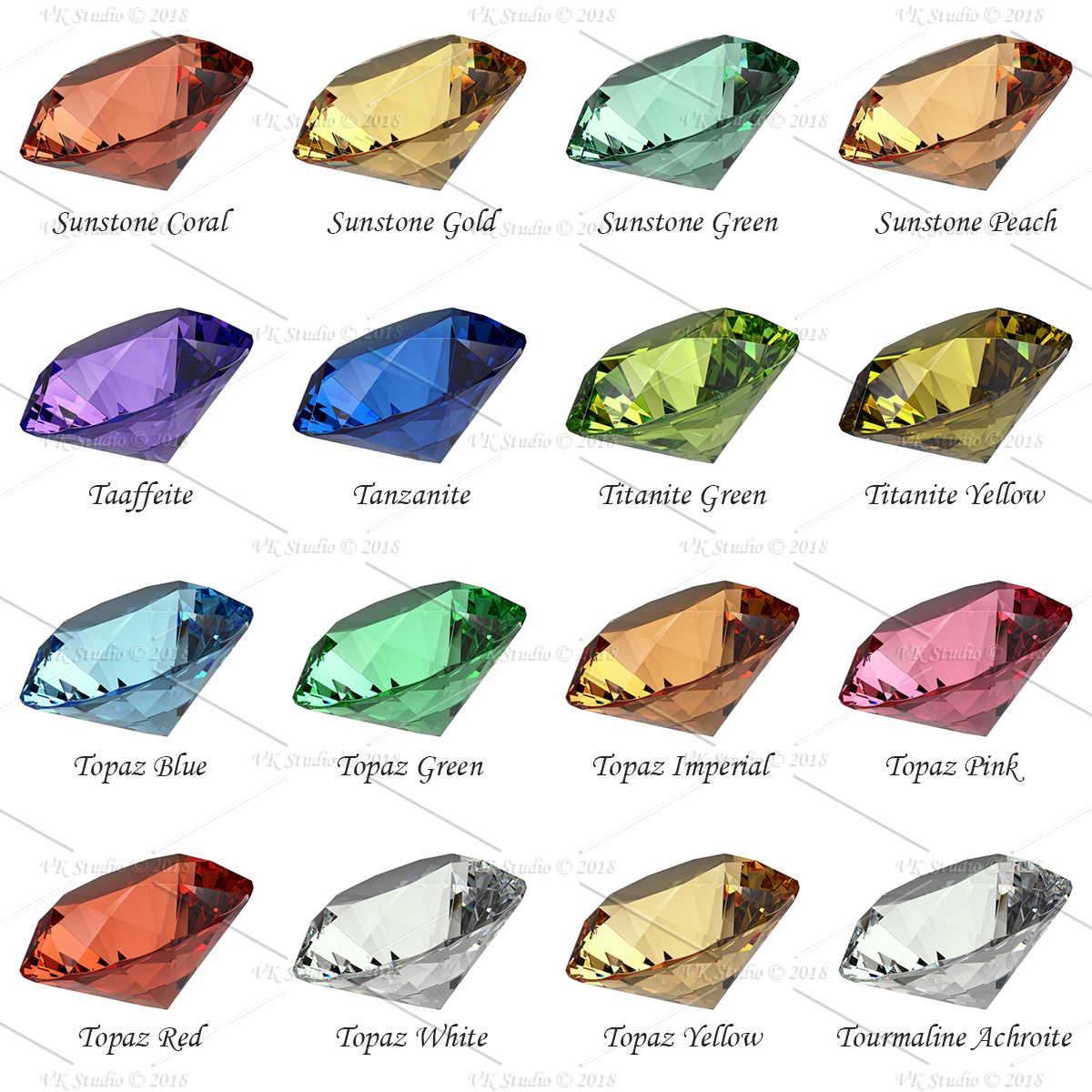 gemstone materials ultimate for v-ray and 3ds max 3d model max png 282433