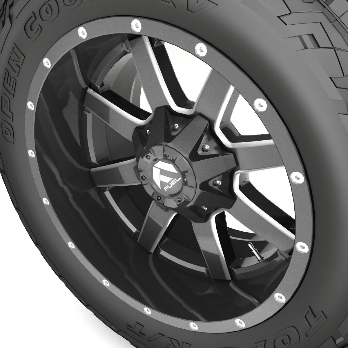off road wheel and tire 7 3d model 3ds max fbx tga targa icb vda vst pix obj 282485