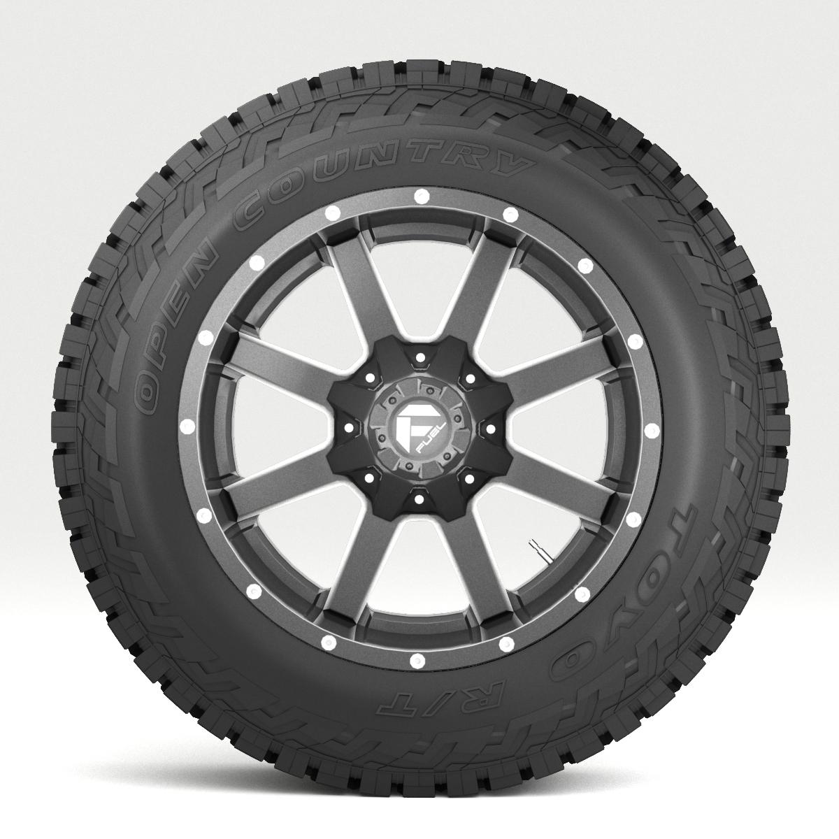 off road wheel and tire 7 3d model 3ds max fbx tga targa icb vda vst pix obj 282488