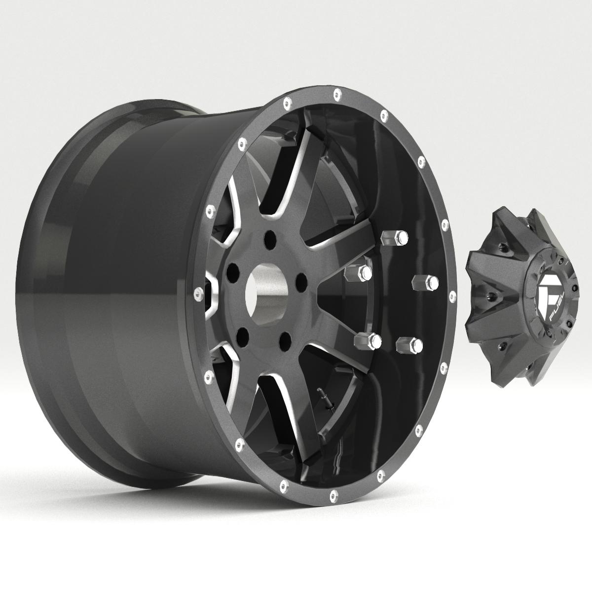 off road wheel and tire 7 3d model 3ds max fbx tga targa icb vda vst pix obj 282489