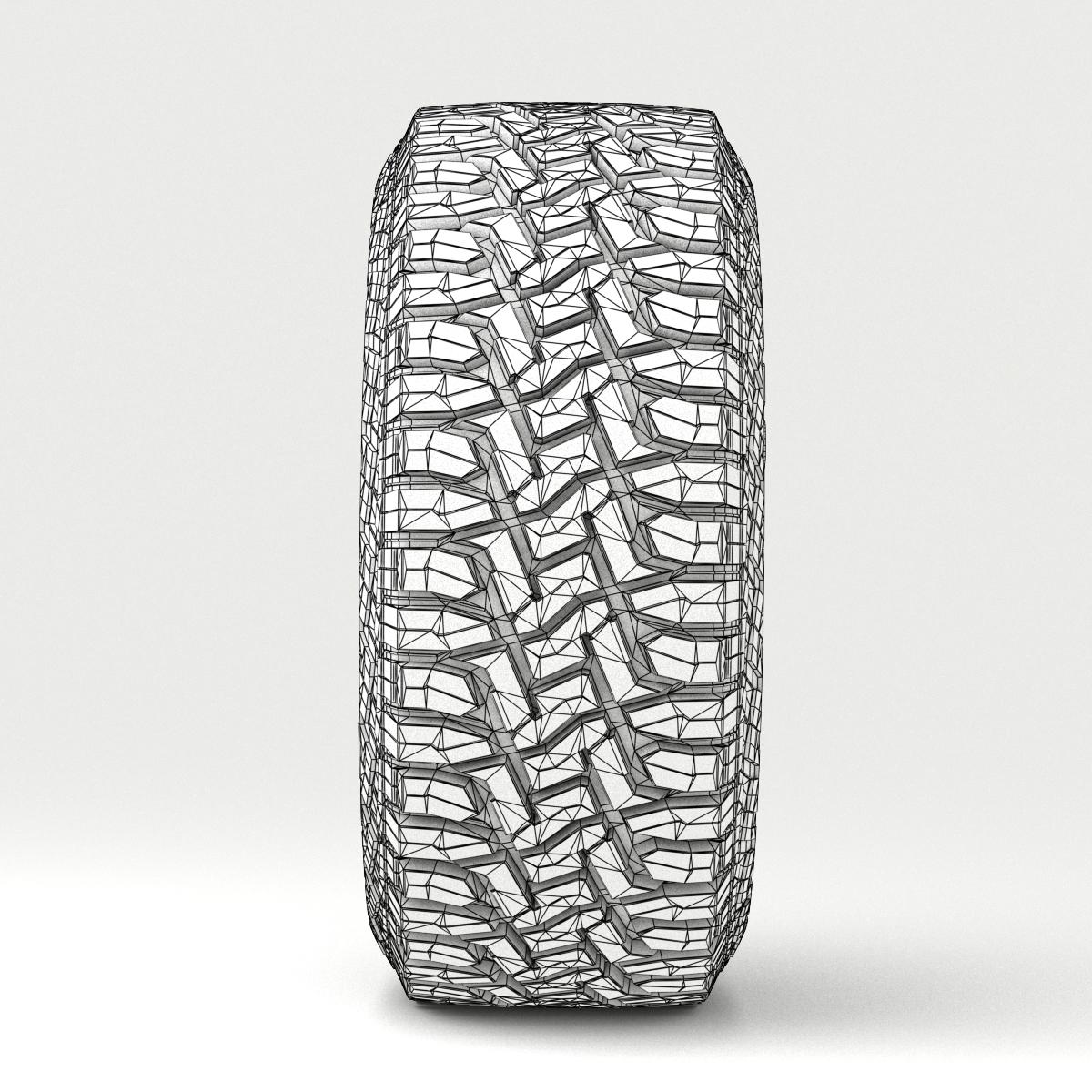 off road wheel and tire 7 3d model 3ds max fbx tga targa icb vda vst pix obj 282492