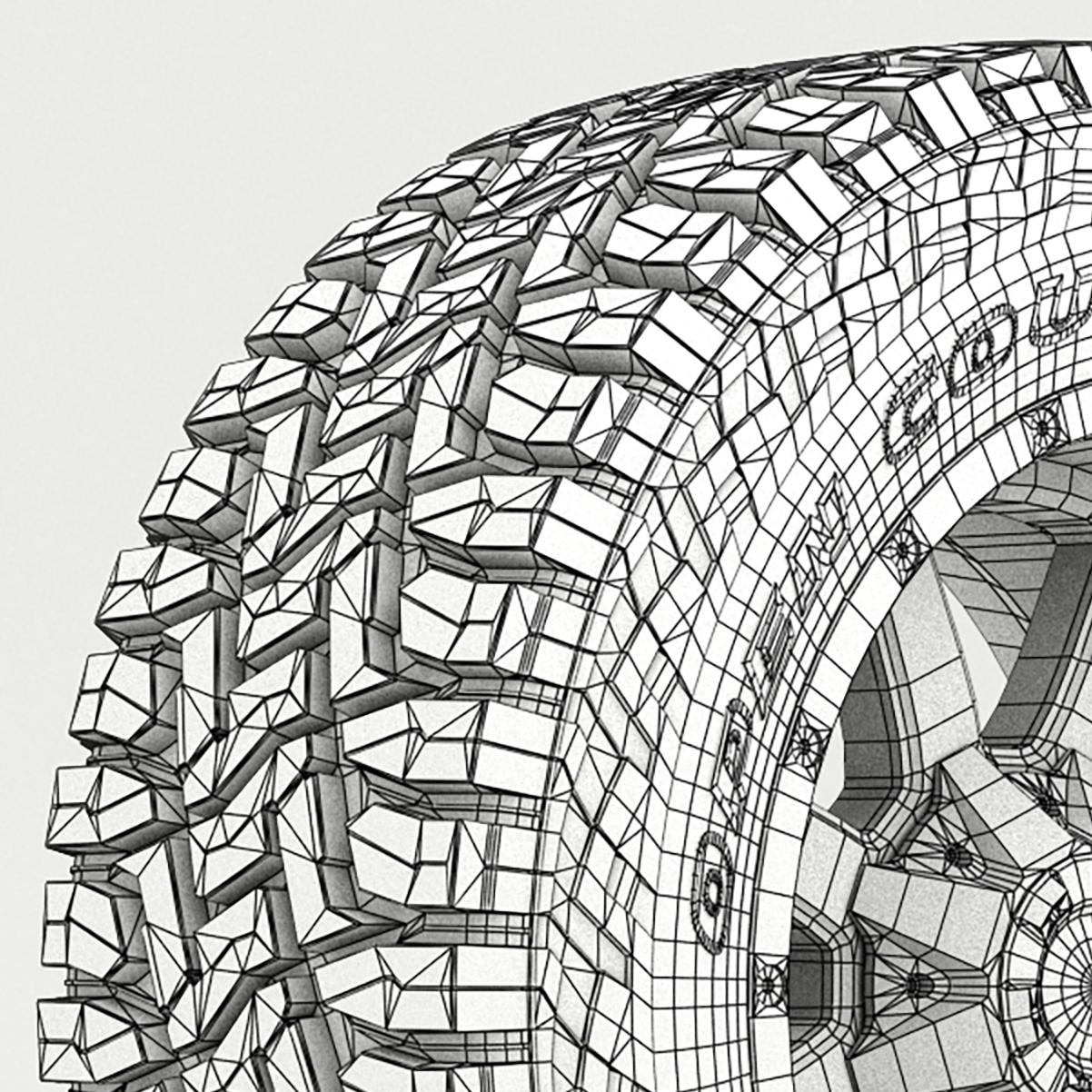 off road wheel and tire 7 3d model 3ds max fbx tga targa icb vda vst pix obj 282497