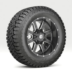 OFF ROAD WHEEL AND TIRE 7 3d model low poly 3ds max fbx tga targa icb vda vst pix obj