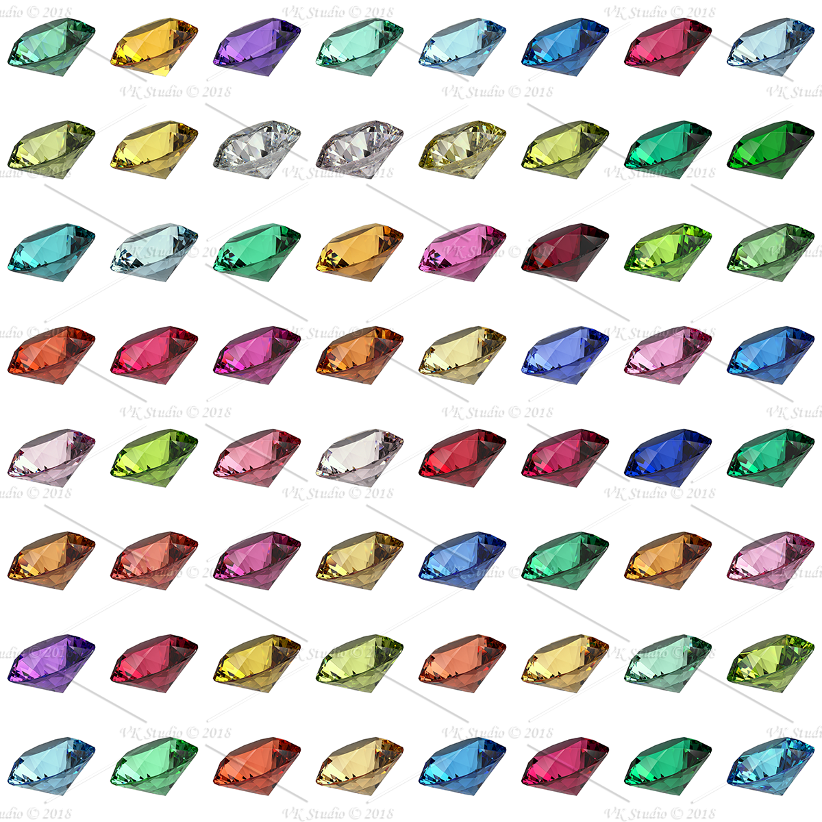 gemstone materials essential for v-ray and 3ds max 3d model max  png 282725