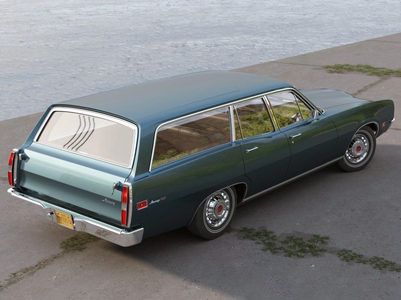 montego mx wagon 1970 3d model 3ds max fbx c4d obj 283068