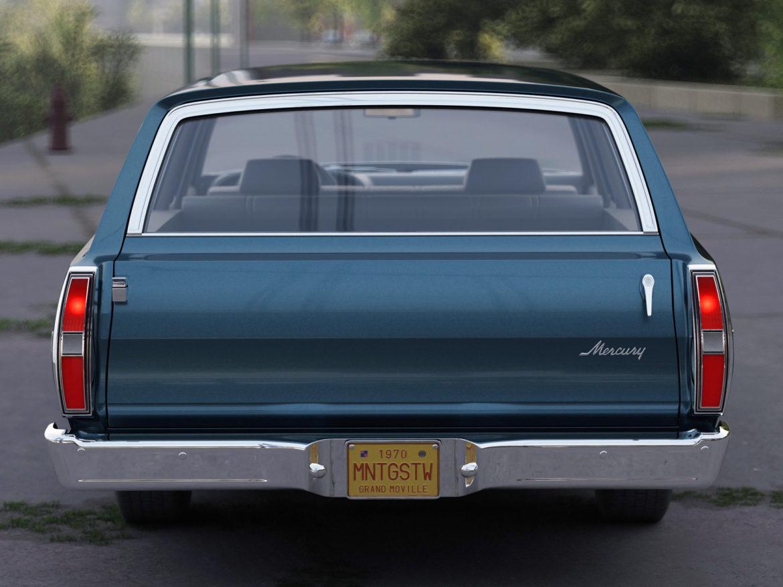 montego mx wagon 1970 3d model 3ds max fbx c4d obj 283071