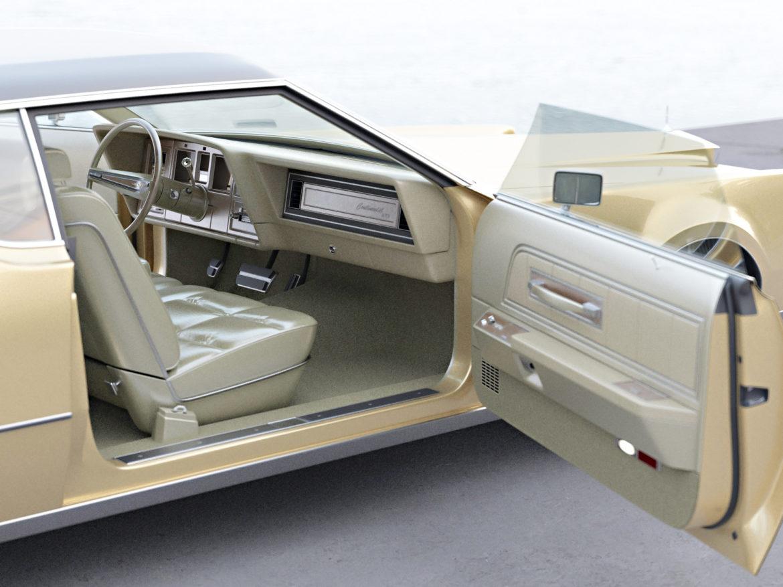 continental mark iv 1974 3d model 3ds max fbx c4d obj 283088