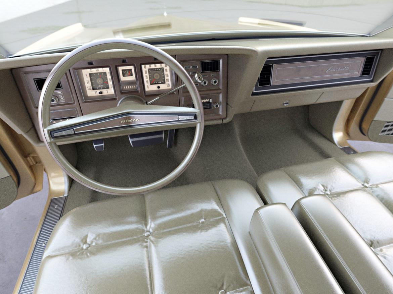 continental mark iv 1974 3d model 3ds max fbx c4d obj 283089