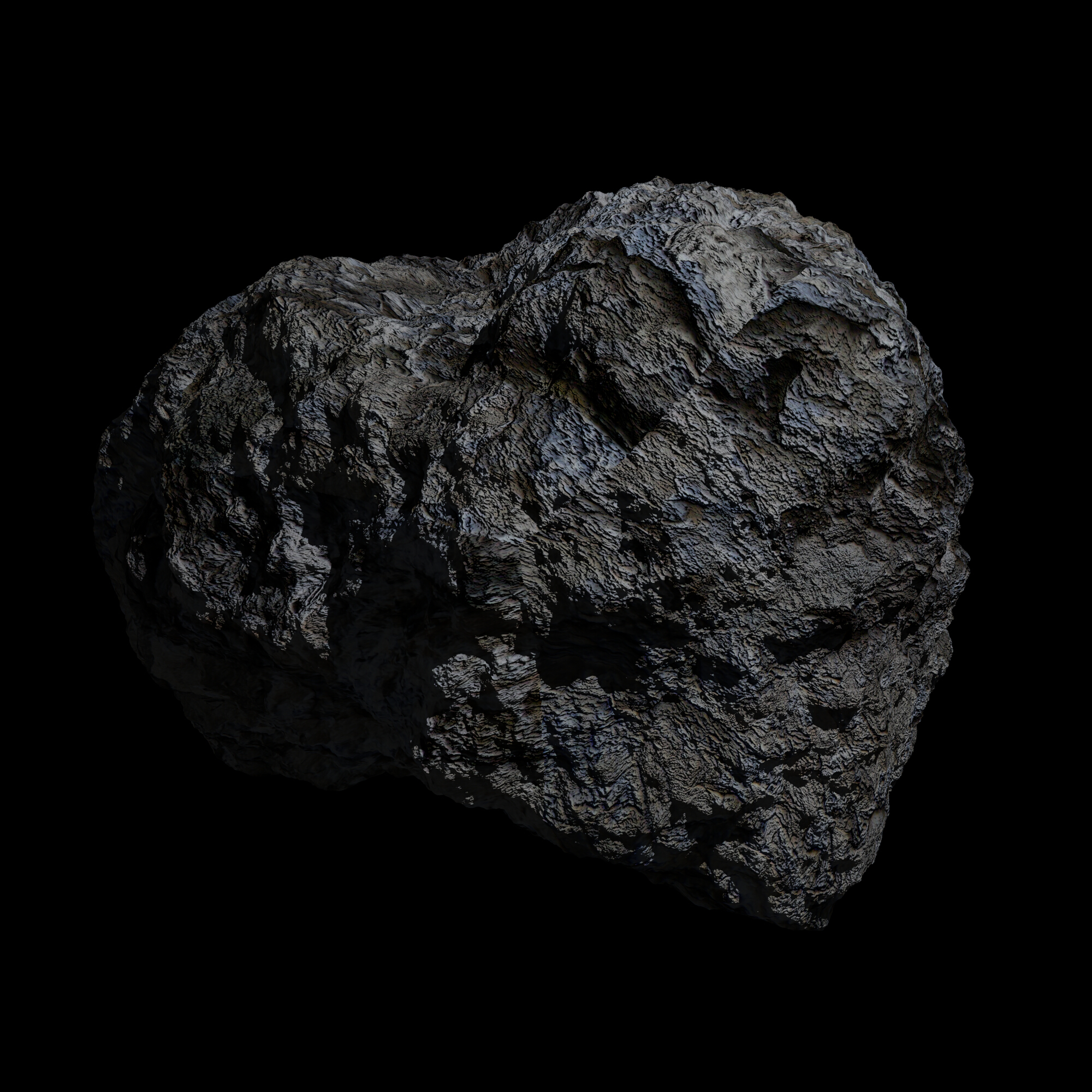 fantasy asteroid collection 3d model blend 3ds dae 283277