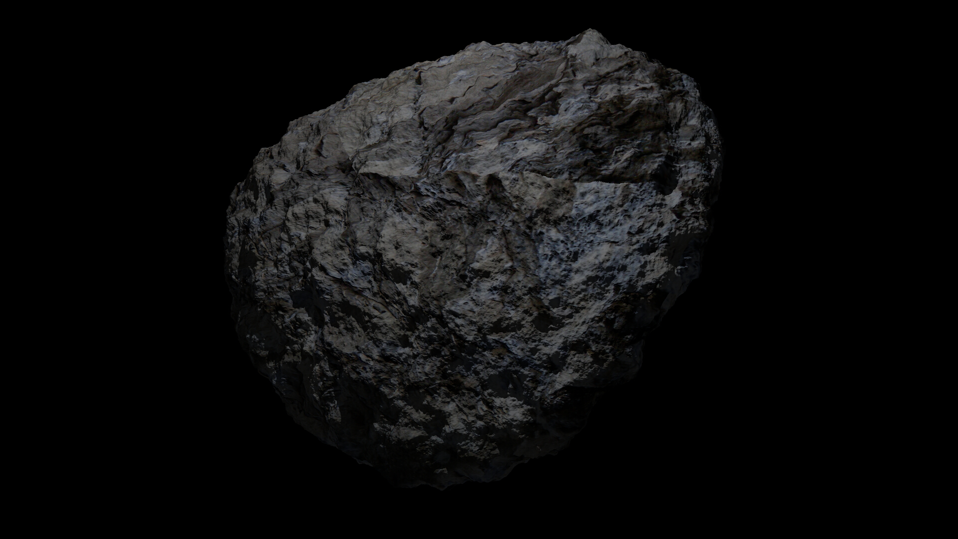 fantasy asteroid collection 3d model blend 3ds dae 283279