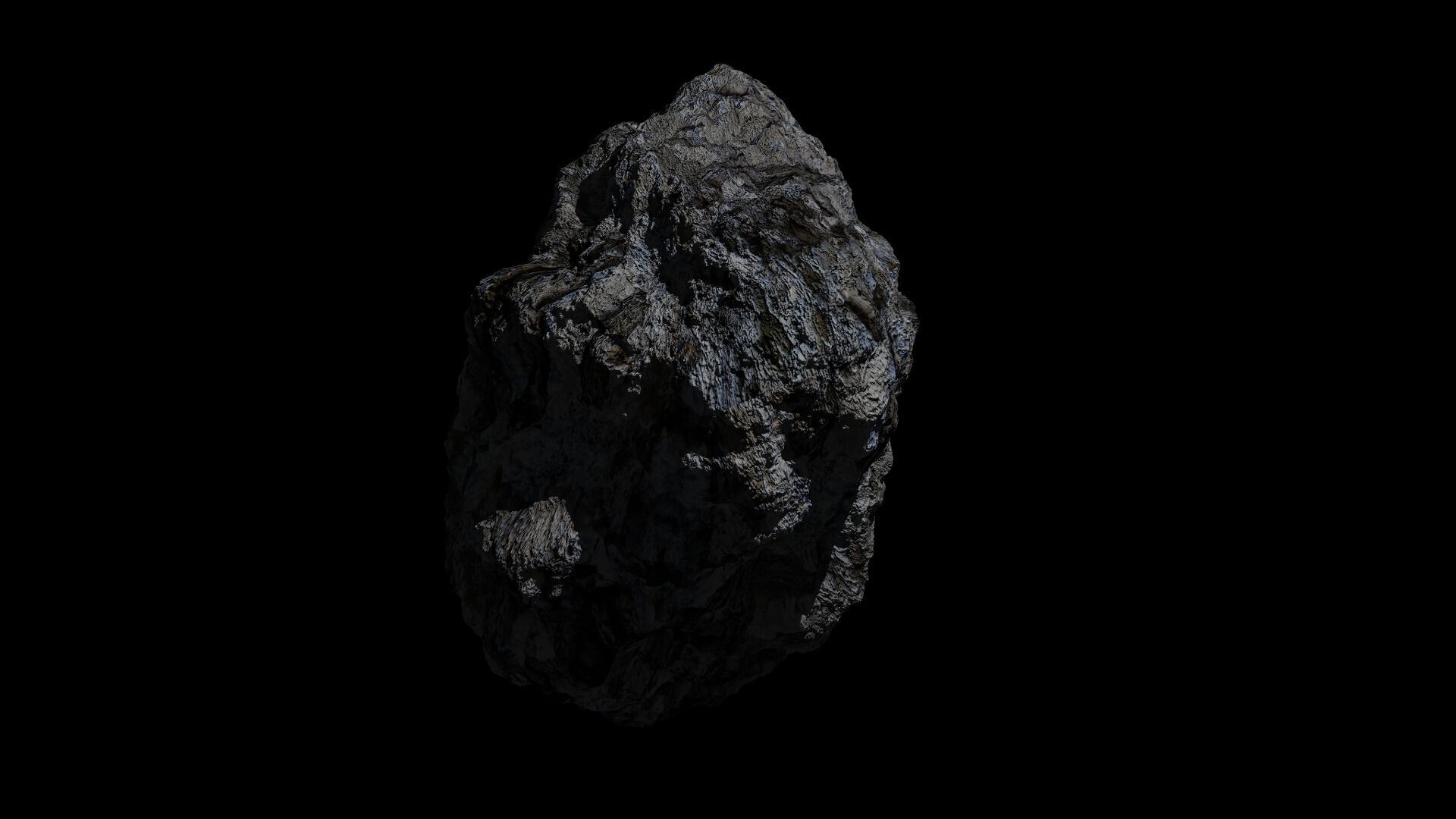fantasy asteroid collection 3d model blend 3ds dae 283281