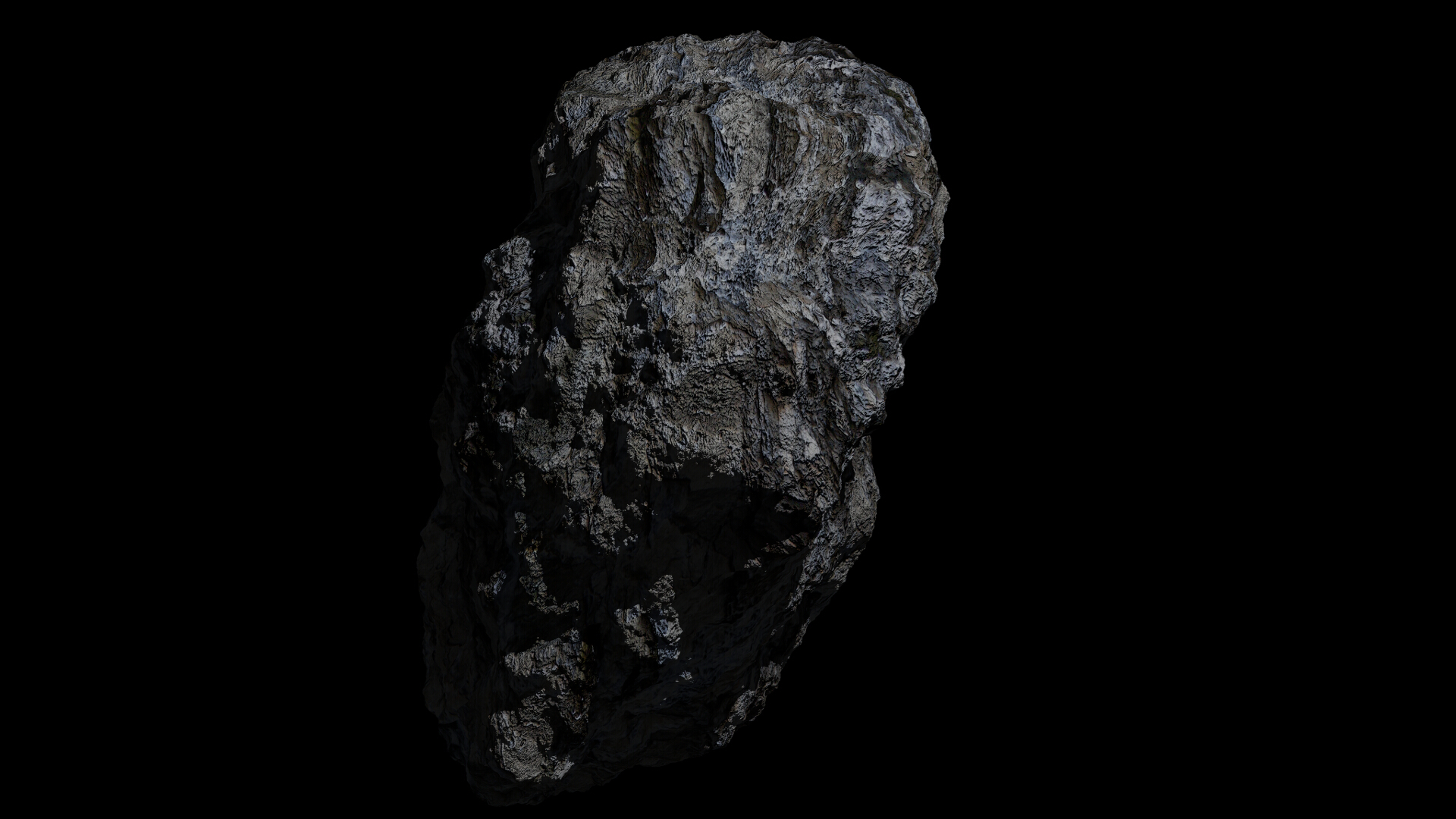fantasy asteroid collection 3d model blend 3ds dae 283282