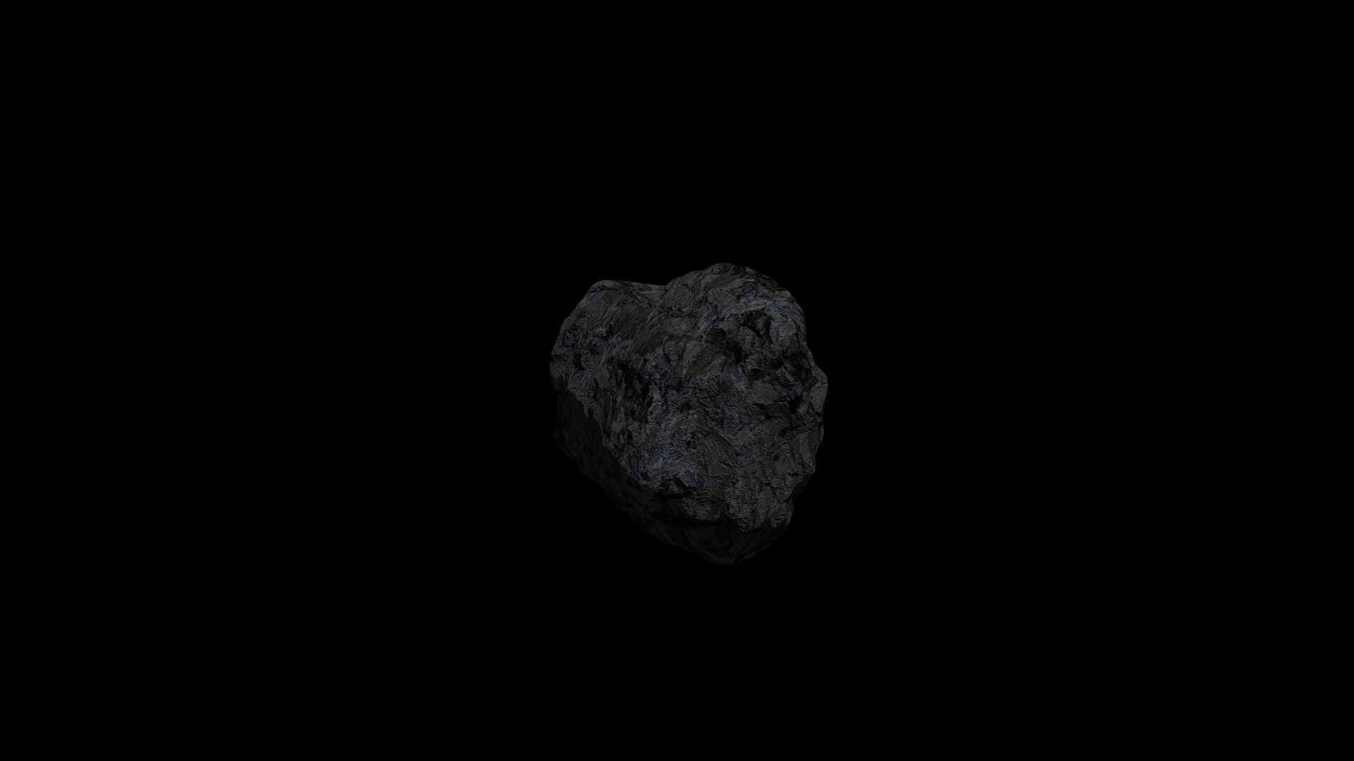fantasy asteroid collection 3d model blend 3ds dae 283294
