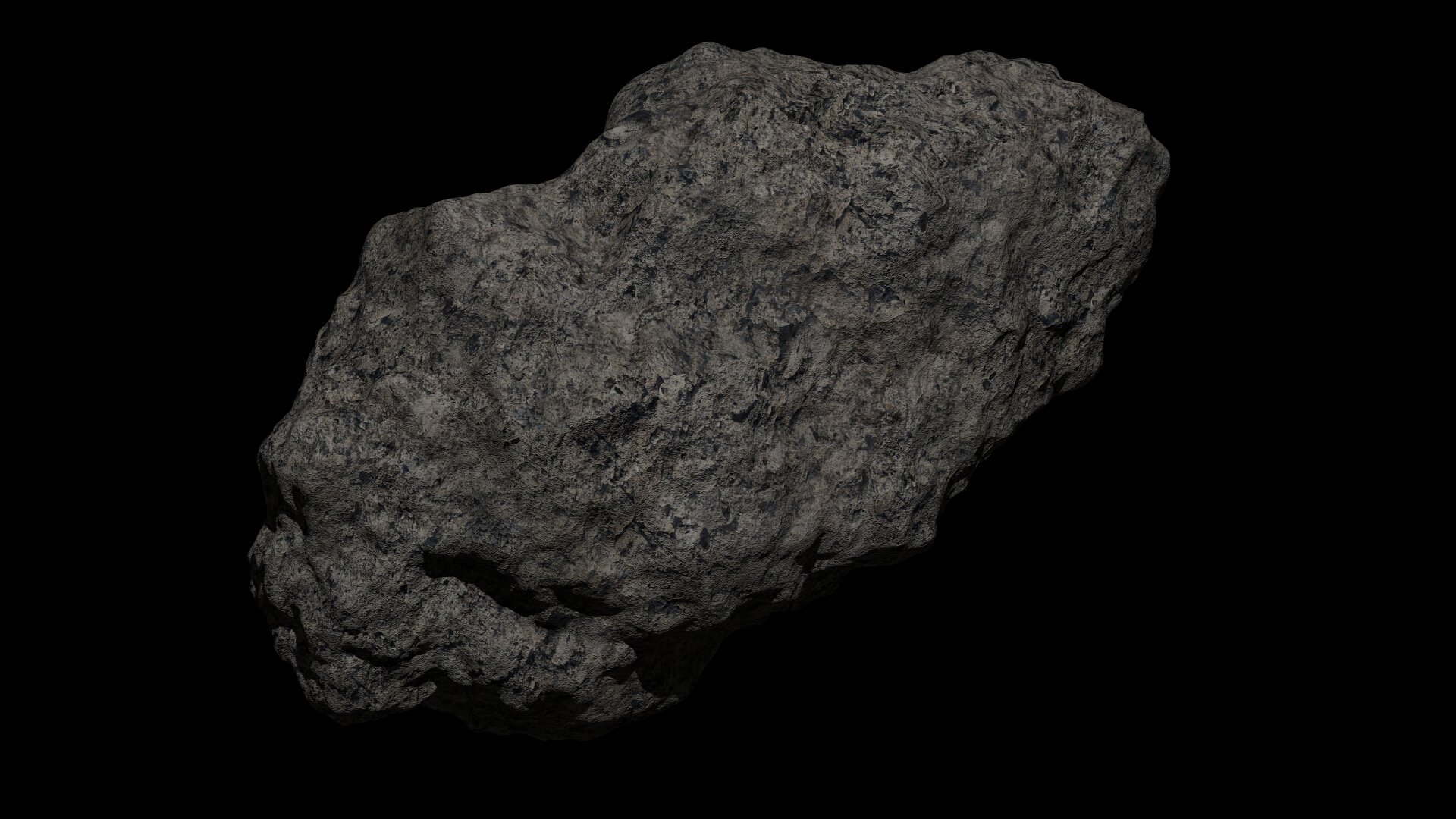 fantasy asteroid collection 3d model blend 3ds dae 283298