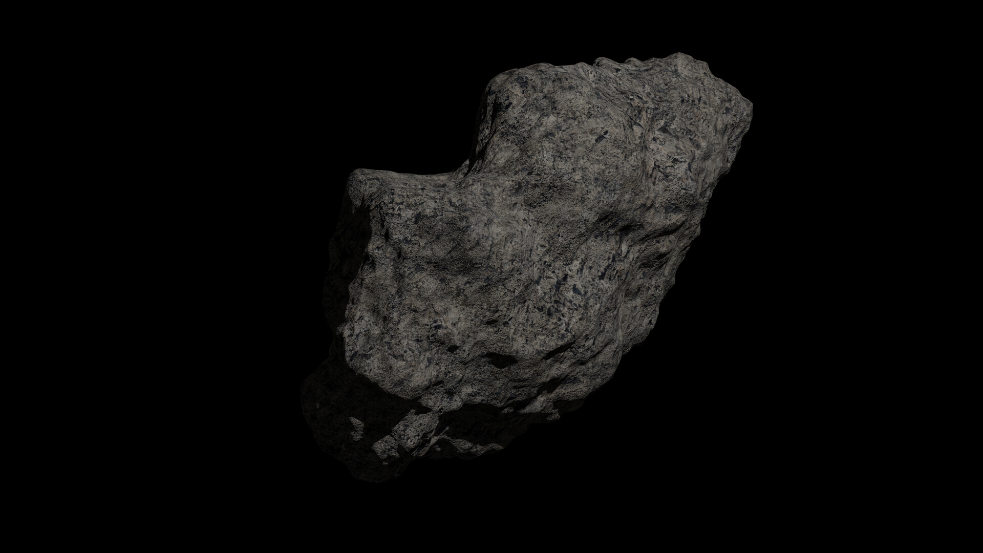 fantasy asteroid collection 3d model blend 3ds dae 283302