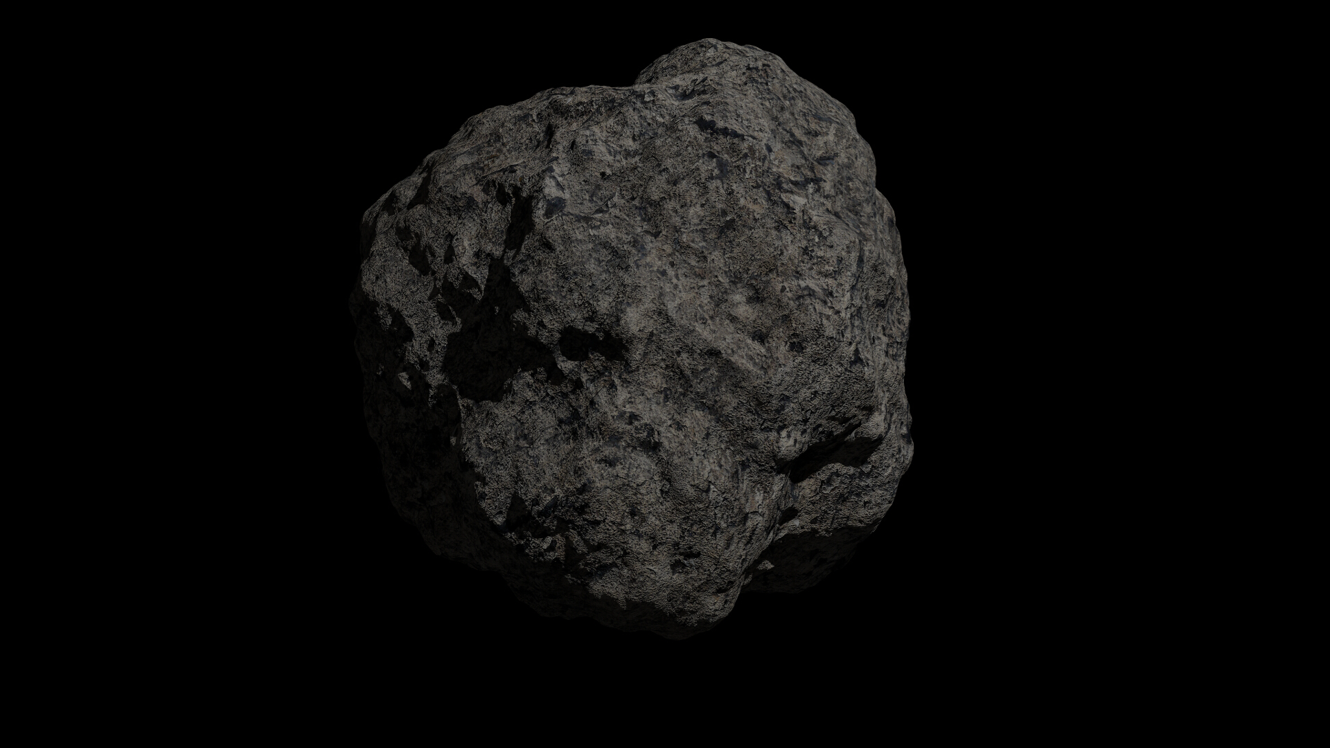 fantasy asteroid collection 3d model blend 3ds dae 283303