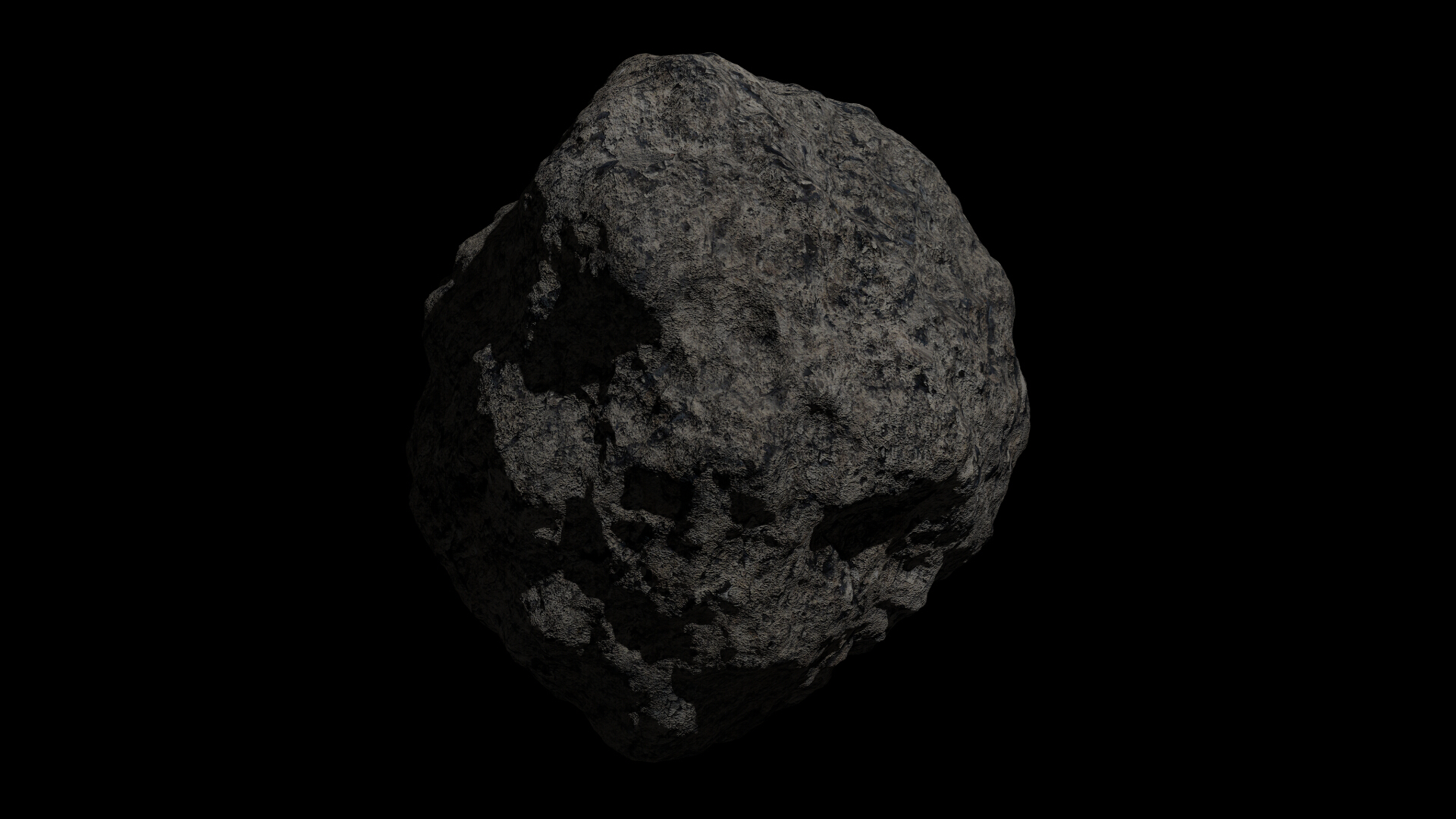 fantasy asteroid collection 3d model blend 3ds dae 283304