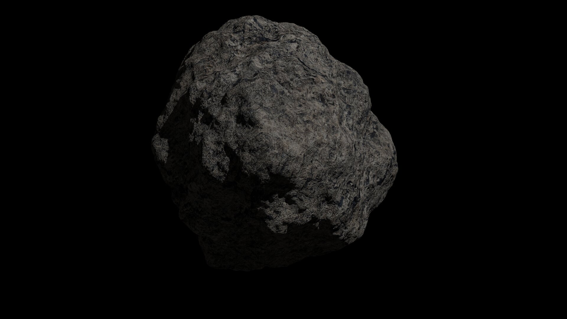 fantasy asteroid collection 3d model blend 3ds dae 283310