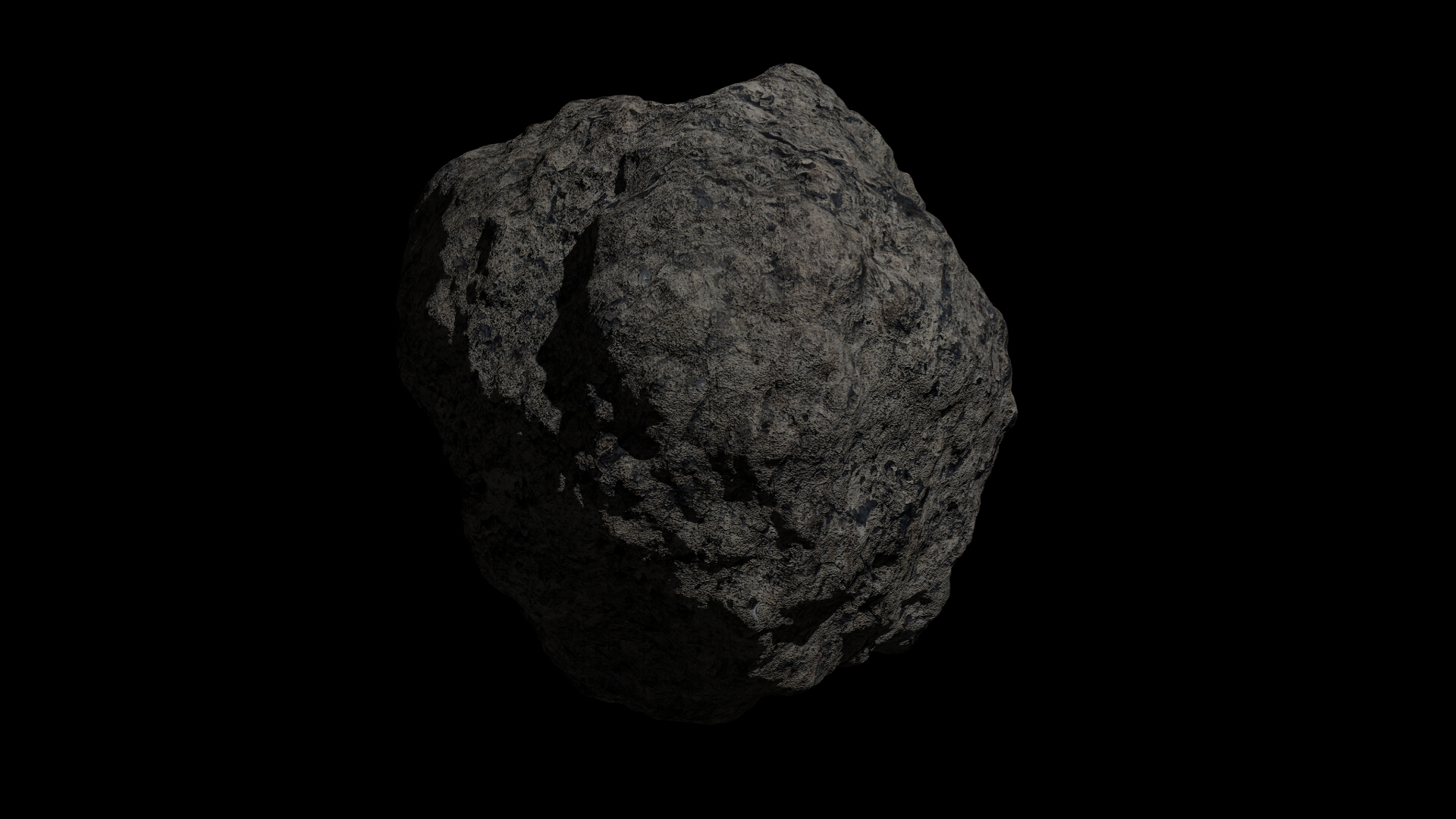 fantasy asteroid collection 3d model blend 3ds dae 283312