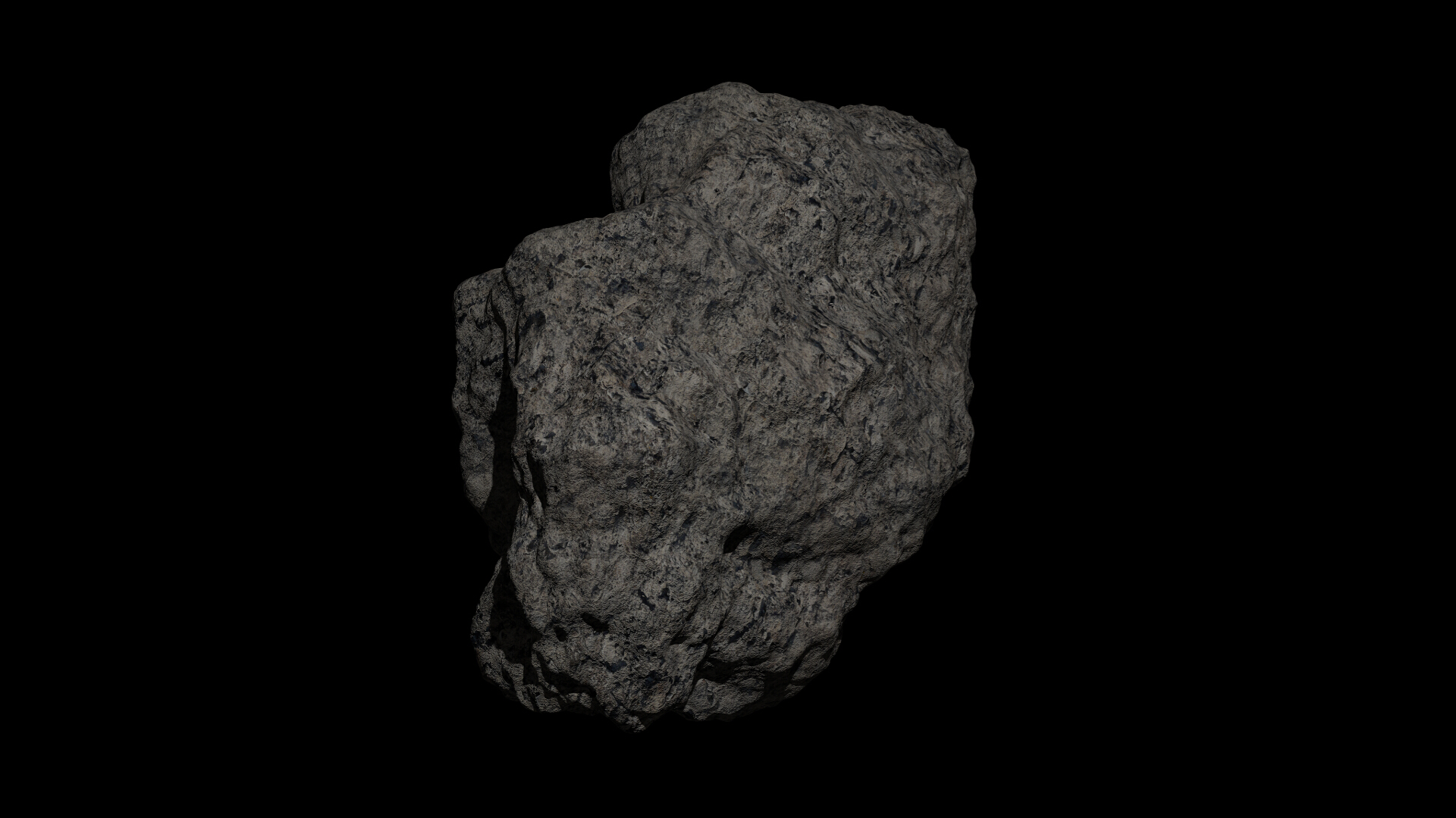 fantasy asteroid collection 3d model blend 3ds dae 283313