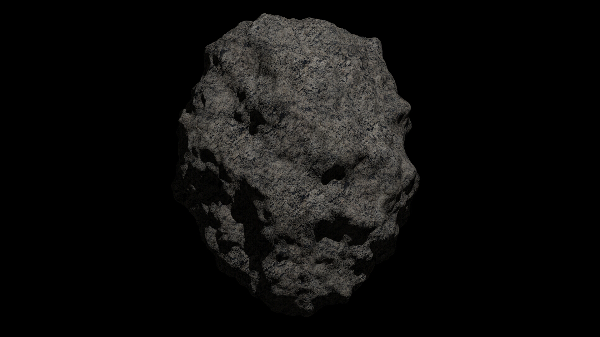 fantasy asteroid collection 3d model blend 3ds dae 283318