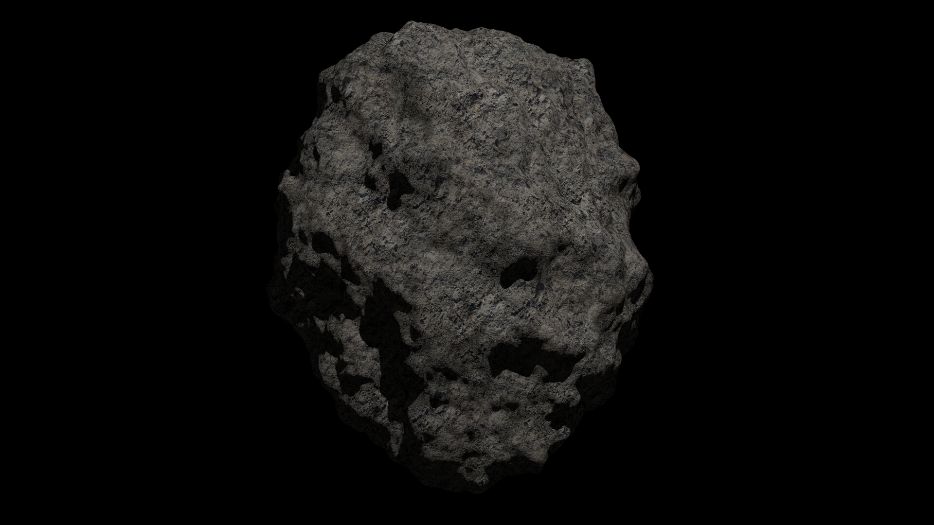 fantasy asteroid collection 3d model blend 3ds dae 283321