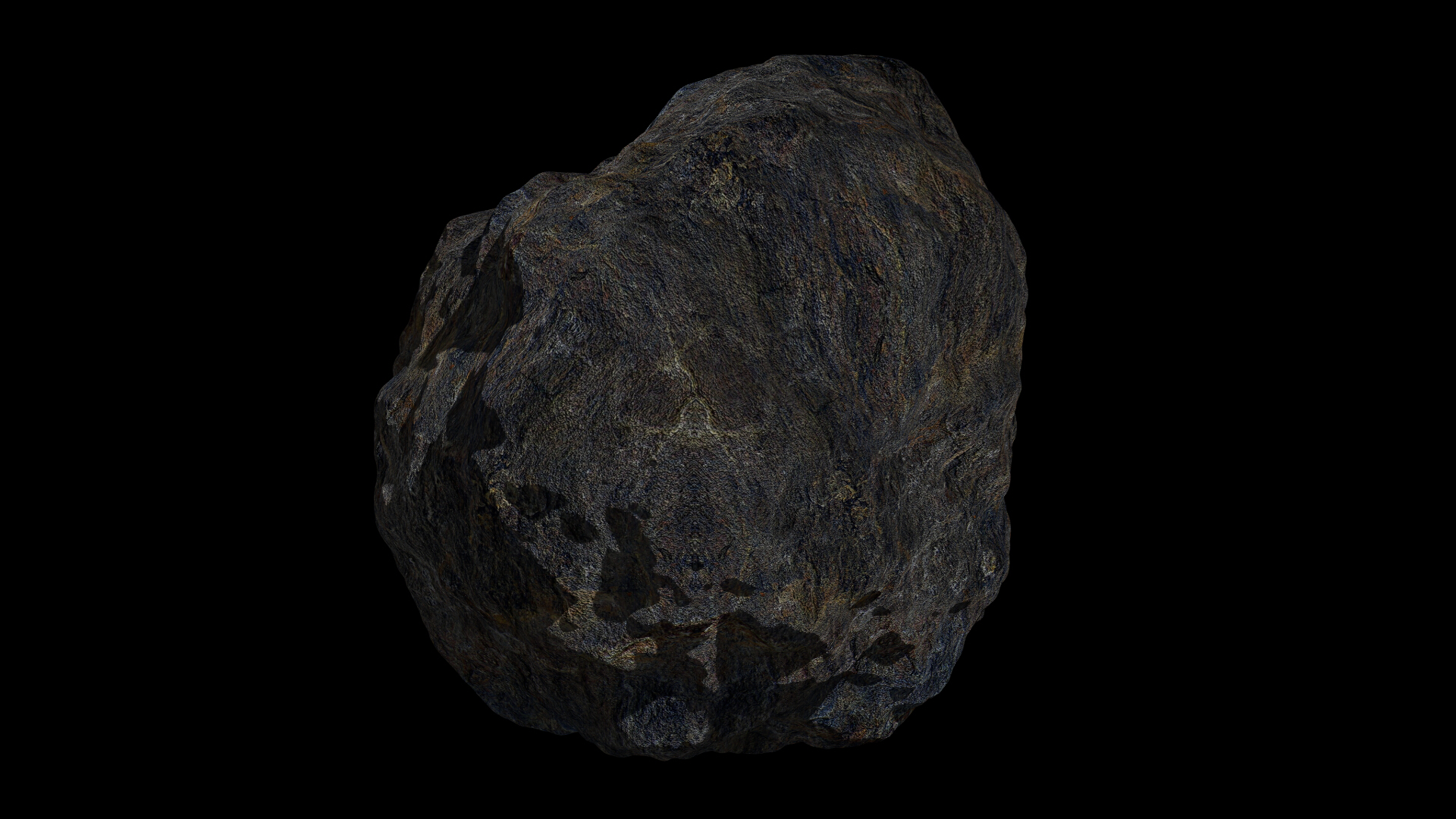 fantasy asteroid collection 3d model blend 3ds dae 283338