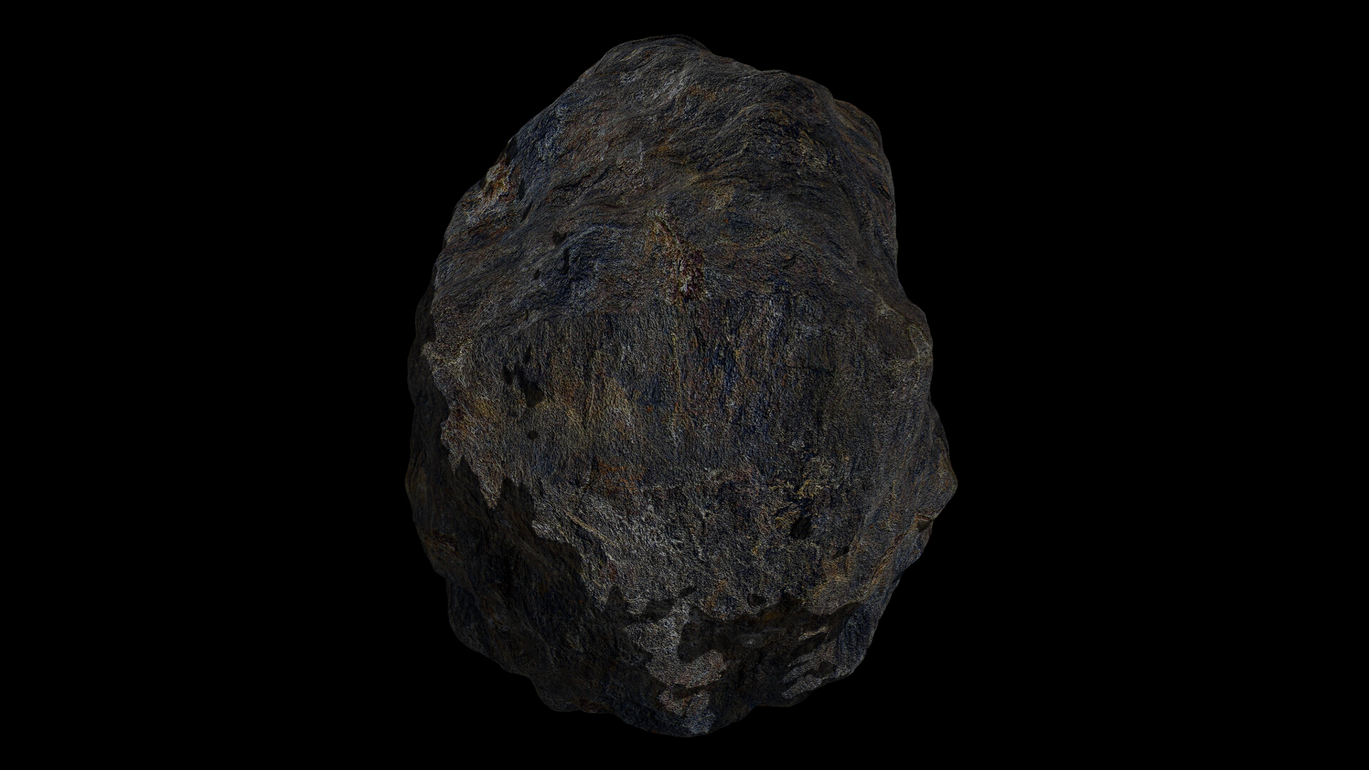 fantasy asteroid collection 3d model blend 3ds dae 283339