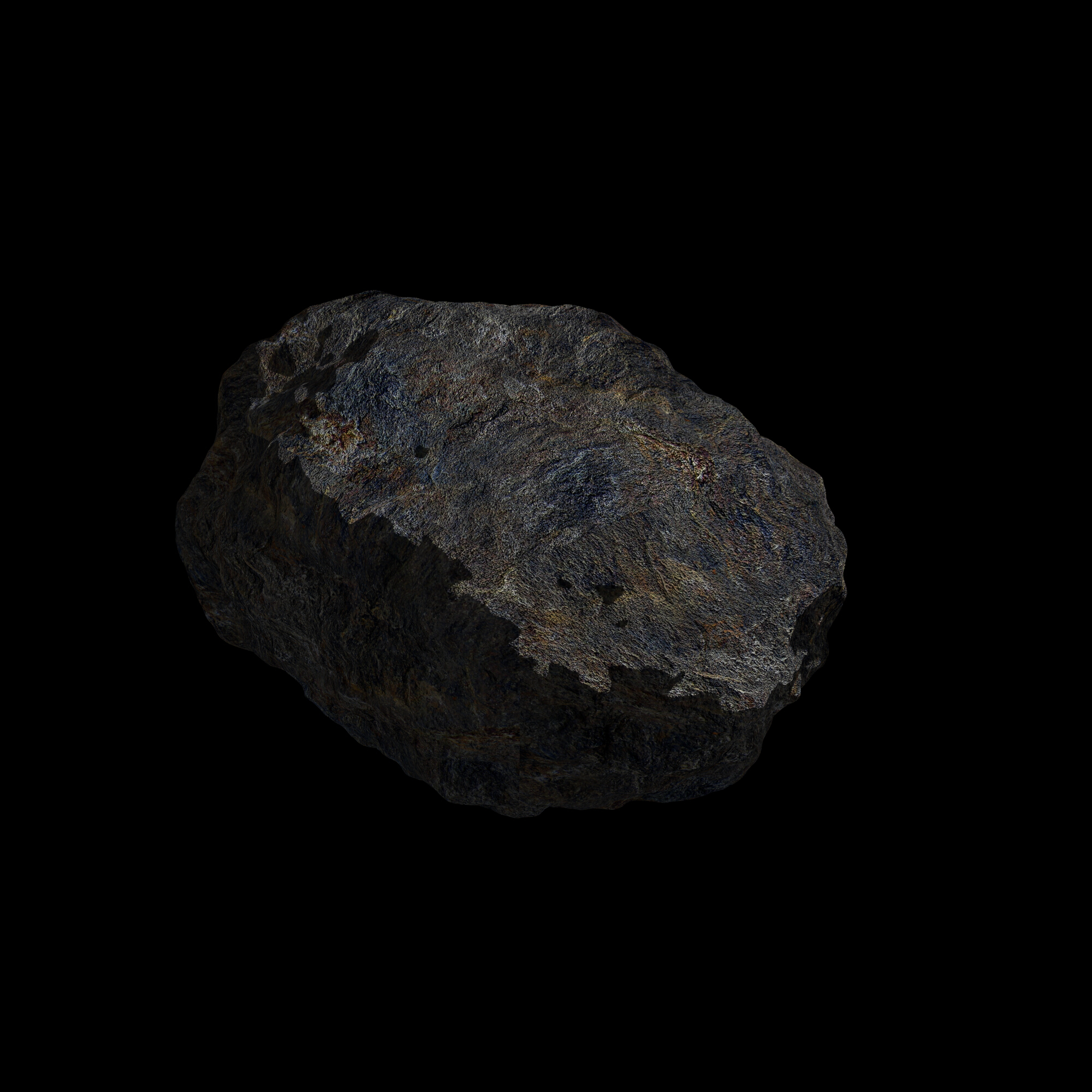 fantasy asteroid collection 3d model blend 3ds dae 283340